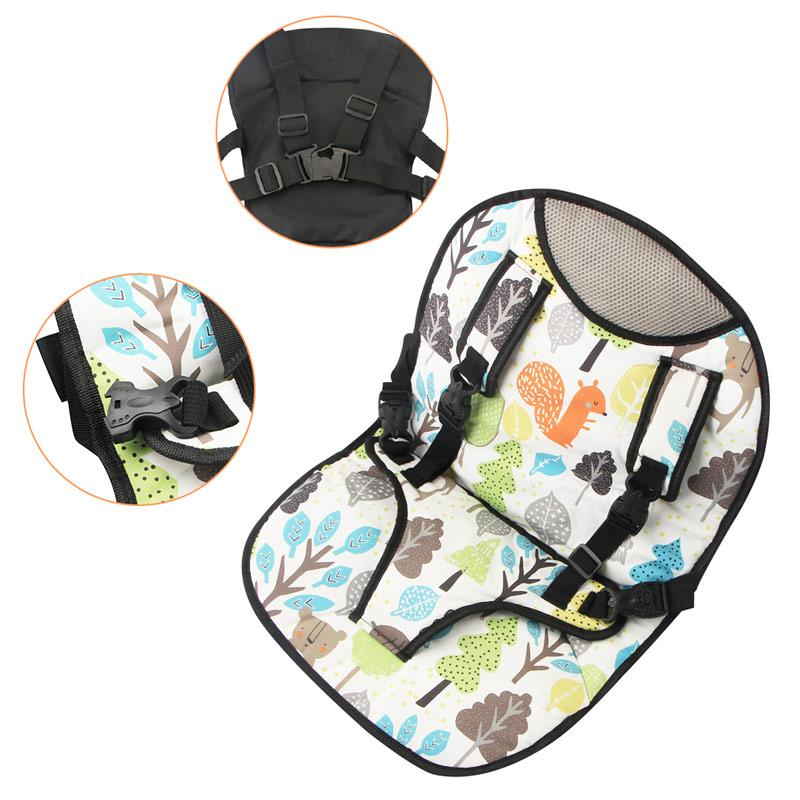 Porable Car High Chair Safety Seat Cover For Kids Simple Ventilation Baby Feeding Chair Cushion
