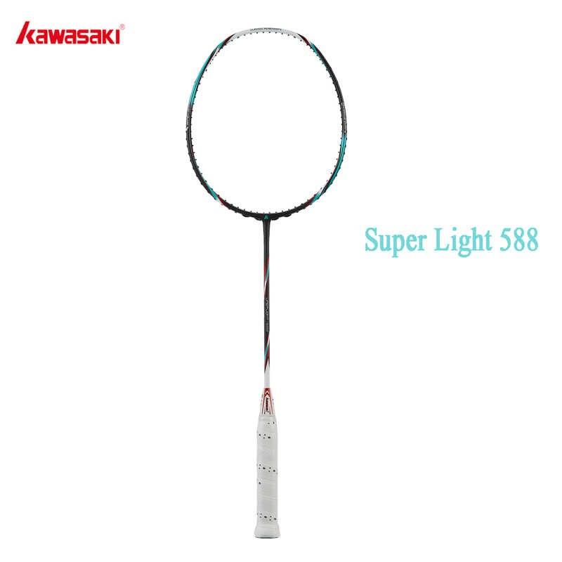 Kawasaki 6U Badminton Schläger Professionelle Super Licht Offensive Typ Hohe Graphit Badminton Schläger Für Ausbildung