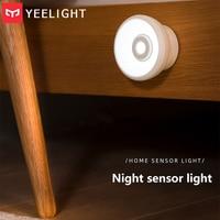 Xiaomi YEELIGHT LED Nachtlicht Infrarot Körper Motion Sensor Lampe USB Aufladbare Für Home Küche Schrank Schrank Gang Treppen