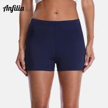 Женские плавательные шорты anfilia однотонные женские бикини