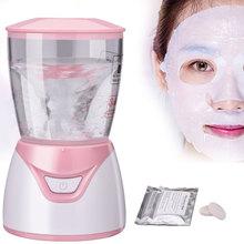 Mini Automatic Facial Mask Maker DIY Organic Fruit Vegetable Natural Collagen Face Mask Machine Beauty Facial SPA Skin Care