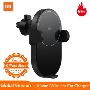 Global Version Xiaomi Mi 20W MAX Wireless Car Charger with Intelligent Infrared Sensor Fast Charging Car Phone Holder