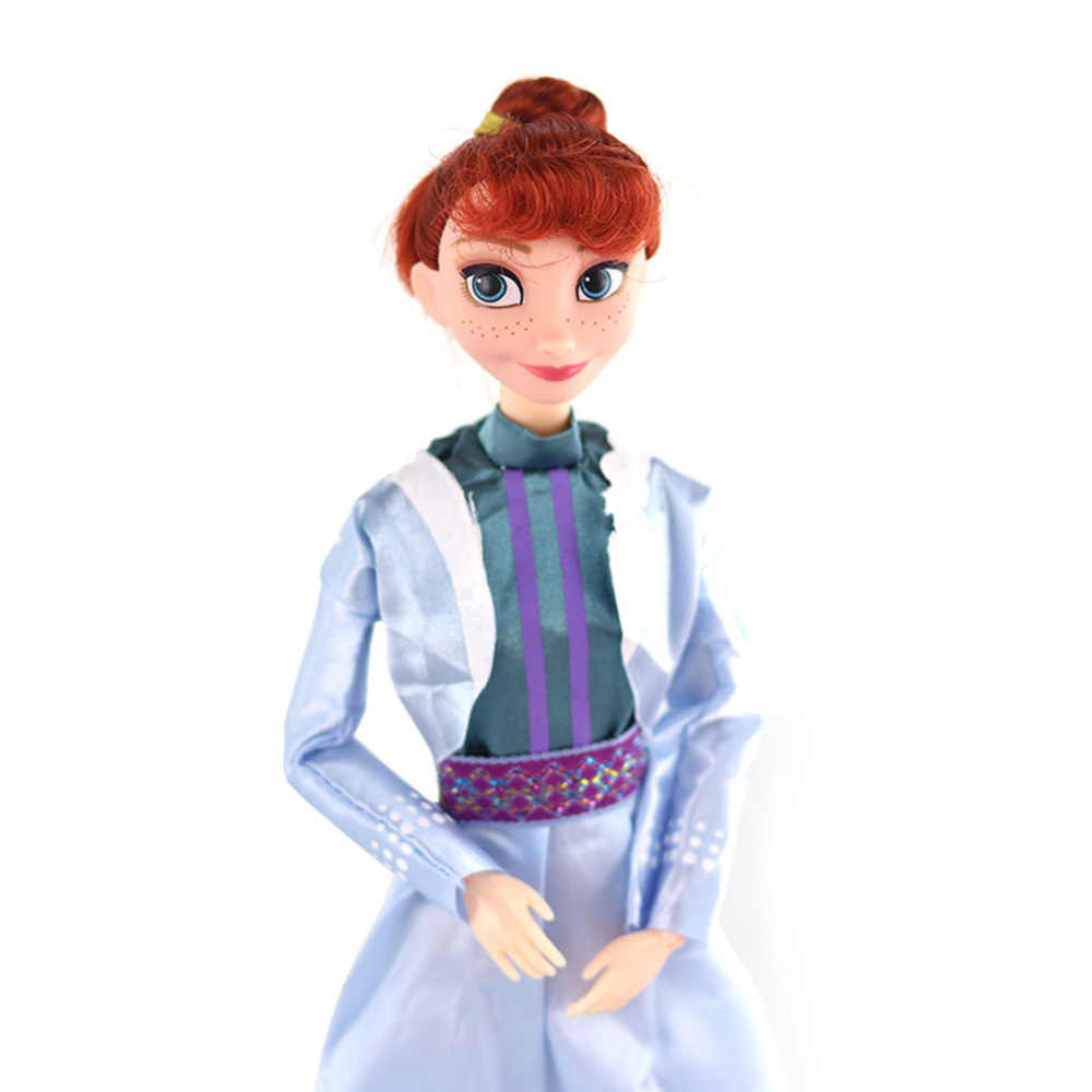ディズニーアニメ冷凍 2 エルザアンナおもちゃ 30 センチメートル冷凍 11 関節可動フィギュアオラフ人形誕生日プレゼントのおもちゃ子供女の子