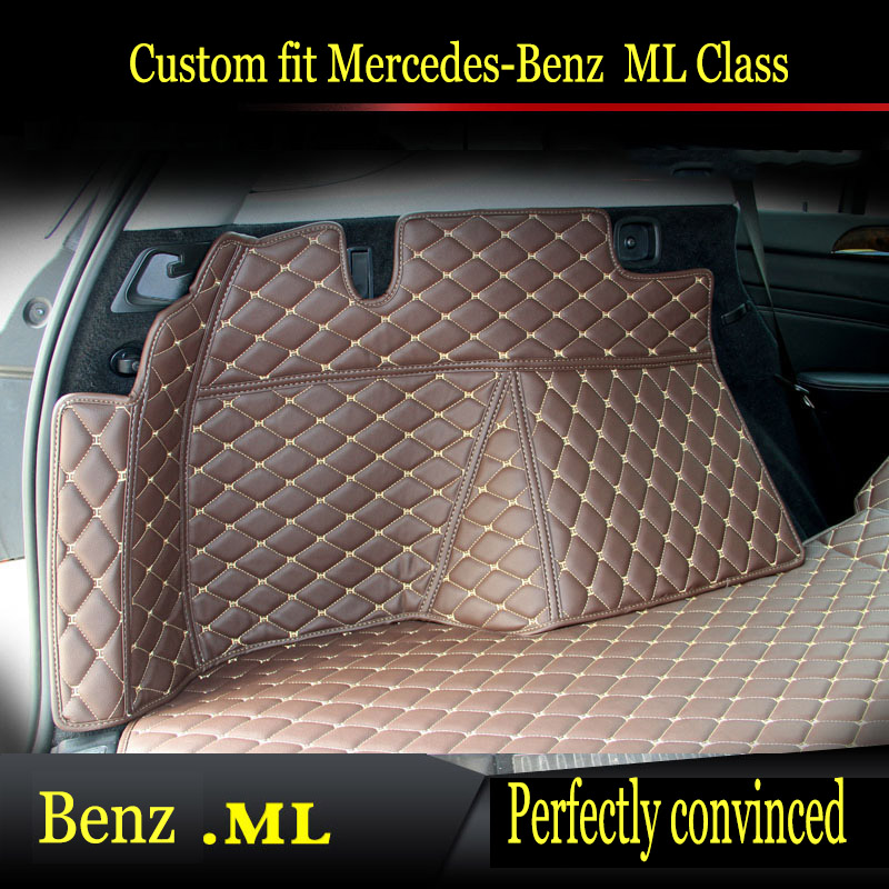ZHAOYANHUA Car trunk mats for <font><b>Mercedes</b></font> Benz <font><b>B</b></font> class 160 170 <font><b>180</b></font> 200 220 260 W245 W24 car styling all weather carpet floor liner image