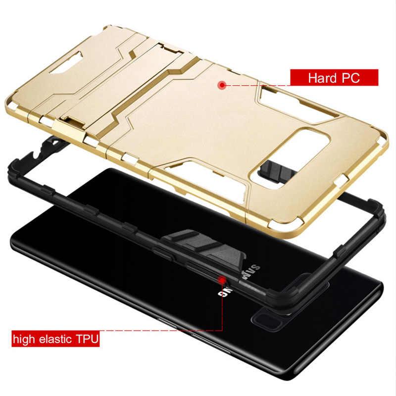 ZNP Роскошный чехол для телефона samsung Galaxy S10 S9 S8 Plus S10E противоударный держатель чехол для samsung S7 Edge Note 8 9 S10 чехол
