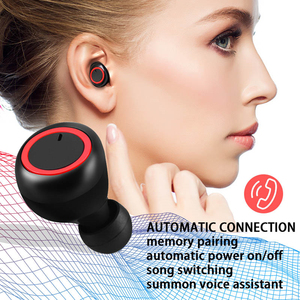 Image 4 - A2 TWS Bluetooth 5,0 наушники вкладыши, стерео беспроводные наушники, спортивные наушники, гарнитура с микрофоном для телефона Xiaomi Iphone