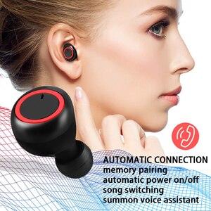 Image 4 - Tws Wireless Bluetooth Earphone Sport Running Fitness Handsfree Car Earphones With Mic Mini Wireless Headset For Xiaomi