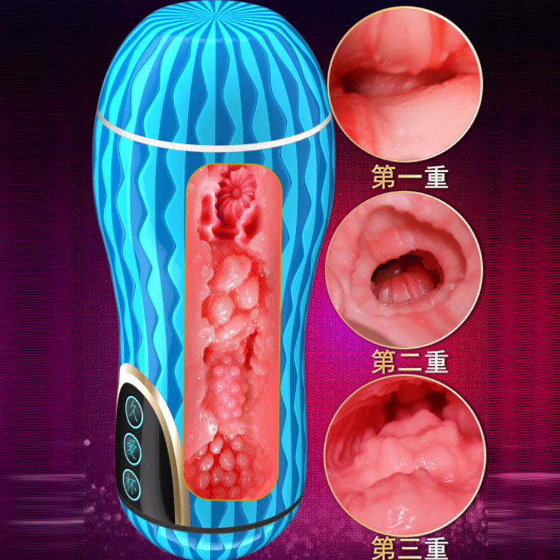 Manual Adaptive Siz Simulation Vagina Masturbator For Man Male Sex Toys Penis Exercise Trainer Buceta Sexy Shop Toy Aircraft Cup
