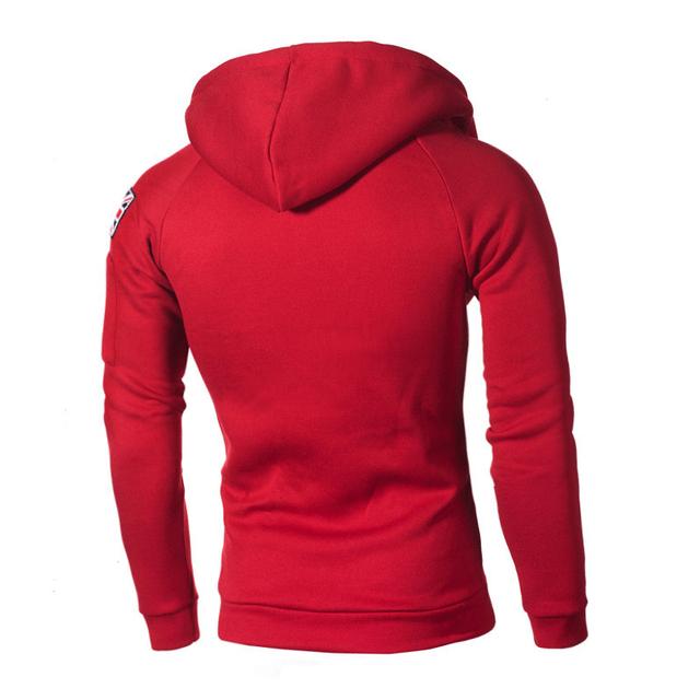 2019 Fashion Casual Solid Sweatshirts Men Autumn Outwear Blouse Male Hoodies Hip Hop Long Sleeve Hoody Streetwear Mens Clothing