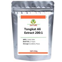 Tongkat Ali порошок из экстракта корня 200:1 Eurycoma Longifolia Longjack pasak Bumi