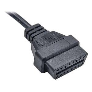 Image 4 - Câble dextension OBDII mâle 19 broches pour Porsche, câble OBD1 à Obd2 16 broches, adaptateur femelle, Interface de Diagnostic, dernier modèle