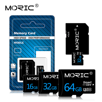 Free Adapter Micro SD Memory Card 64GB 128GB Real Capacity  High Speed Class10 Flash Cards 8GB/16GB/32GB For Smartphone