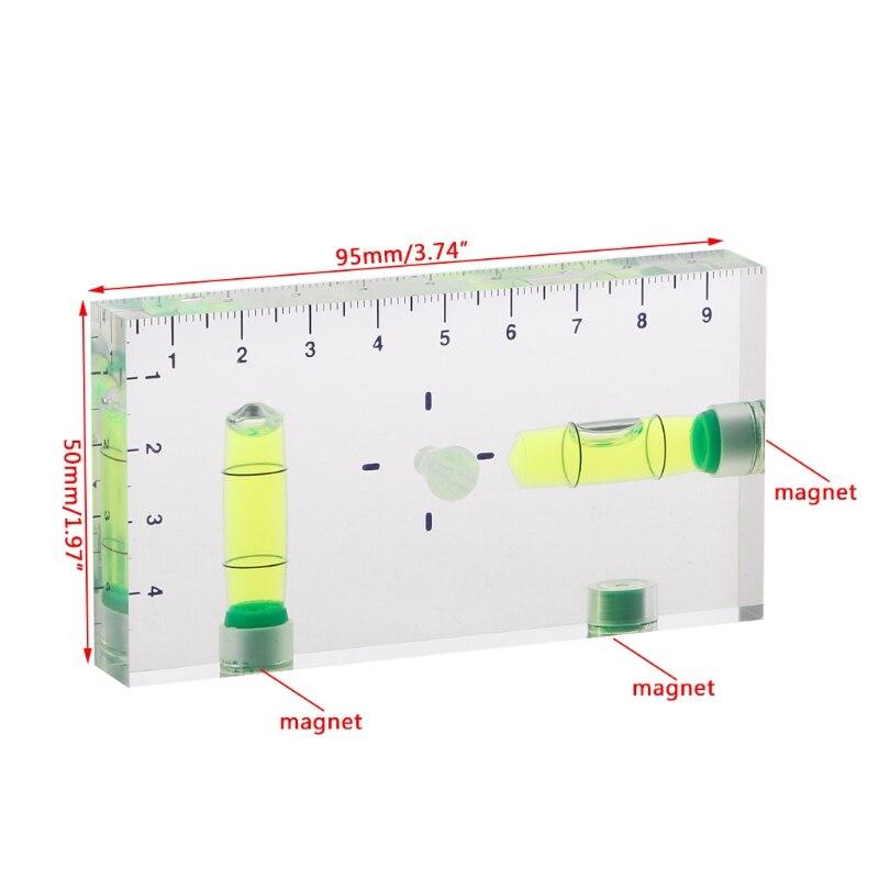 Купить высокая точность прозрачный двухнаправленный магнитный уровень