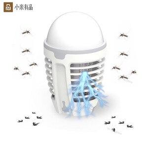 Image 1 - Youpin DYT 90 5 ワット led usb 蚊 dispeller リペラー蚊キラーランプ物理感電バグ昆虫ザッパー害虫トラップ李