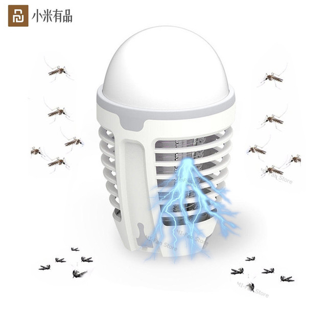 Youpin DYT 90 5 ワット led usb 蚊 dispeller リペラー蚊キラーランプ物理感電バグ昆虫ザッパー害虫トラップ李