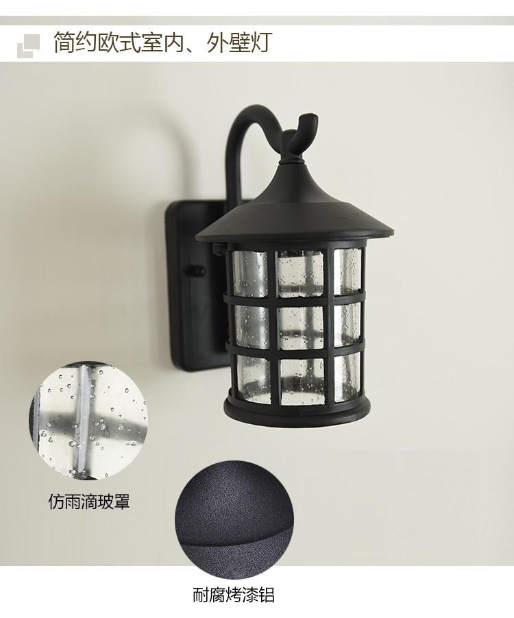 querosene lanterna luz rua industrial arandela para bar coffee shop zm1110