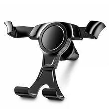 Универсальный гравитационный Автомобильный кронштейн, Гравитационный Автомобильный держатель для мобильного телефона, автомобильный держатель с вентиляционным отверстием Navi, аксессуары для телефона