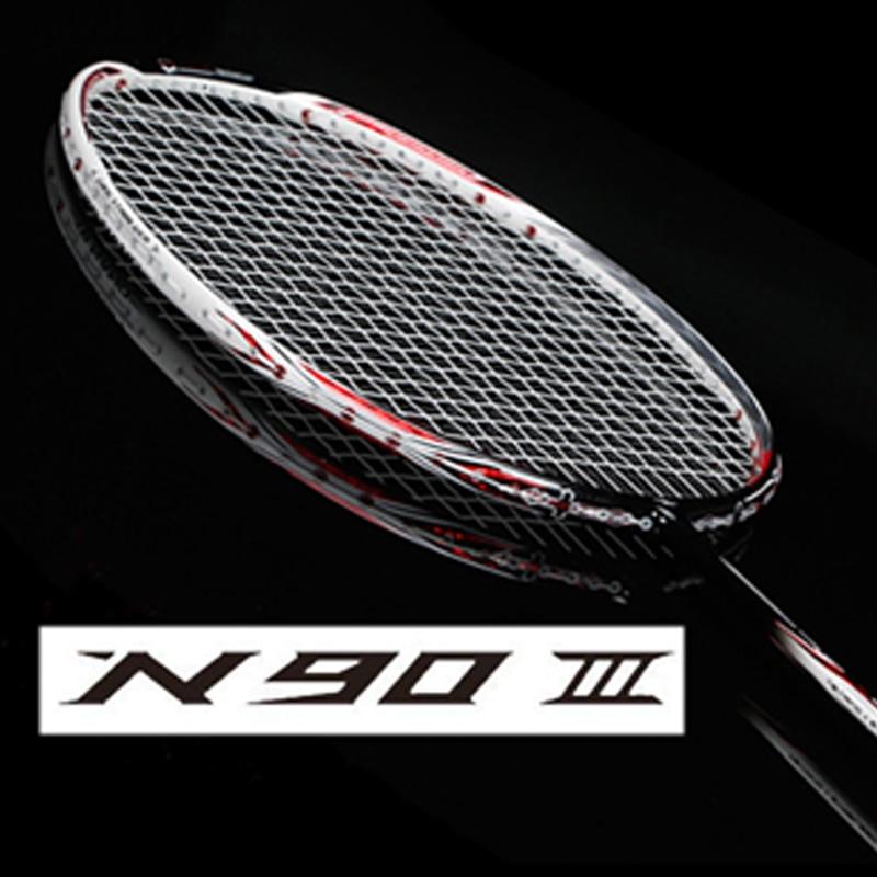 Badminton Rackets Carbon Racquet Sports N90-3 VT ZF 2LD