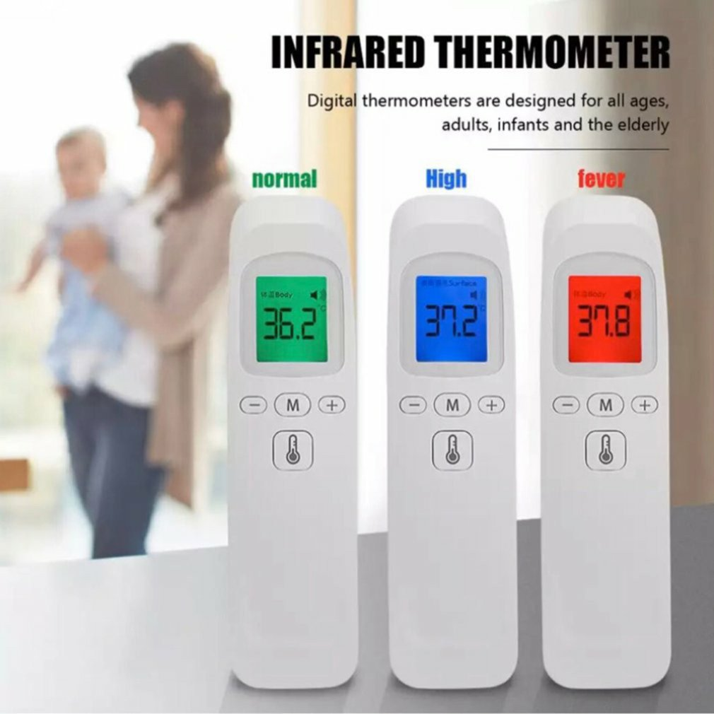 Mini Convenient Handheld Infrared Thermometer Wall-Mounted Infrared Temperature Measurement Non-Contact Digital Thermometer
