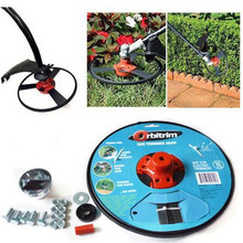Solid Steel No String Universal Gas Trimmer Metal Head Cutter Replacement Garden Trim Grass
