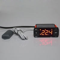 Digital Temperature & Humidity Controller Thermostat For Incubator Greenhouse Breeding Hatching