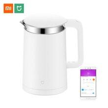 Hervidor eléctrico inteligente Xiaomi Mijia con Control constante de temperatura, aparatos de cocina, hervidor de agua, tetera de 1,5 l de aislamiento térmico