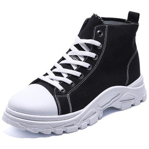New men's sneakers, fashion canvas, high-top, comfortable, lightweight, non-slip, breathable, casual shoes, men's shoe laces