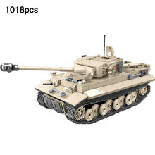 Compatible Legoingly Military WW2 German Tiger 131 Tank Army Soldier Gun Weapons Building Blocks Bricks Education Toys Boys Gift yamala imperial redcoat army soldier gun collectible building blocks children gift toys compatible with legoingly army soldiers