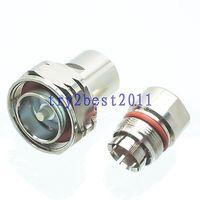 """DHL/EMS 10 piezas conector 7/16 DIN pin abrazadera 1/2 """"cable corrugado COAXIAL recto C1 Accesorios para baterías     -"""