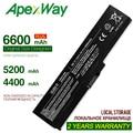 ApexWay Аккумулятор для ноутбука Toshiba Satellite A660 C640 C650 C655 C660 L510 L630 L640 L650 U400 PA3817U-1BRS PA3816U-1BAS
