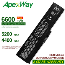 цена на ApexWay Laptop Battery For Toshiba Satellite A660 C640 C650 C655 C660 L510 L630 L640 L650 U400 PA3817U-1BRS PA3816U-1BAS
