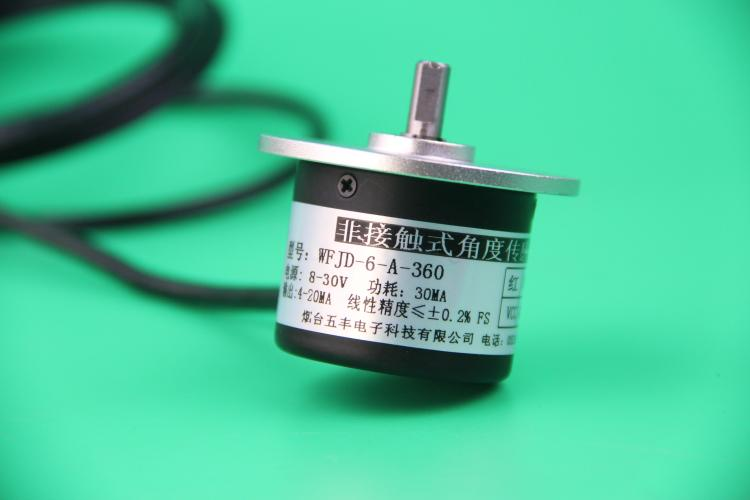 WFJD Angle Encoder 360 Degree Angle Sensor 0-10V Corner Encoder 4-20MA Angle Sensor