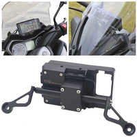 Para Yamaha XMAX 300 XMAX300 X MAX 300 Motocicleta Frente Titular Suporte do Telefone Do Smartphone Telefone GPS Navigaton do Suporte Da Placa