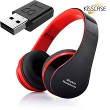Kisscase fones de ouvido sem fio tv kit conexão usb leve inclui televisor adaptador transmissor de áudio para assistir privado