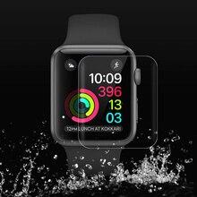 Полностью Защитная Гидрогелевая пленка для Apple watch защита экрана 42 мм 44 мм 40 мм 38 мм iwatch 5 4 3 2 1 пленка не закаленное стекло