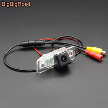 цена на BigBigRoad For BMW X1 E84 X3 E83 E90 E91 E82 E88 E39 E60 3 5 Series X5 E39 E46 E53 Wireless Rear View Camera HD Color Image