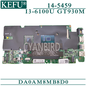 KEFU DA0AM8MB8D0 original mainboard für Dell 14-5459 mit I3-6100U GT930M Laptop motherboard