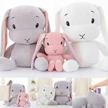 30cm 50cm  Lucky Cute Rabbit Plush Toys Bunny Stuffed Plush Animal Baby Doll Baby Accompany Sleep Toy For Kid Children 70cm 50cm 30cm cute rabbit plush toys bunny stuffed plush toy cute pillow for baby sleeping gift