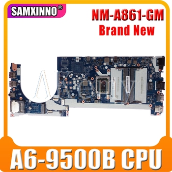 NEW!! CE475 NM-A861 for lenovo thinkpad E475 CE475 laptop motherboard 01EN267 02DL537 100% test OK CPU:A6-9500B DDR4-2.4 MHZ FRU