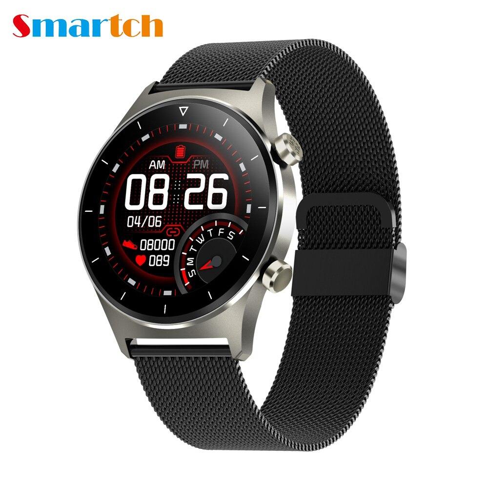 Умные часы E13 для мужчин и женщин, спортивные Смарт-часы с GPS, шагомером, круглым экраном, Bluetooth, для IOS, Huawei, Xiaom