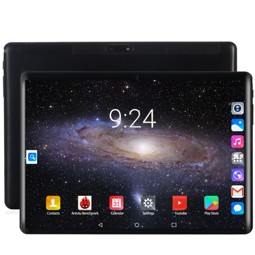 2020 4G LTE Tablet PC 128G Global Bluetooth Wifi Android 8.0 10.1 Inch Tablet Octa Core 6GB RAM 128GB ROM 2.5D Screen Tablets Pc
