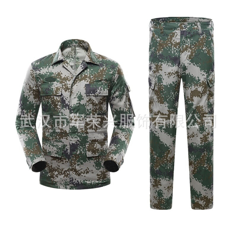 Wholesale Jungle Digital Camouflage Suit Summer Woodland Camouflage Training Clothes Outward Bound Training Suit Instructors Ser
