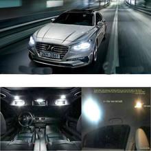 6 шт светодиодные лампы для салона автомобиля hyundai greatig