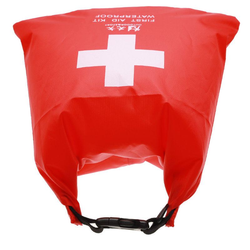 Waterproof 1.2L First Aid Kit Bag Emergency Kits Case Portable For Outdoor Camp Travel Emergency Medical Treatment