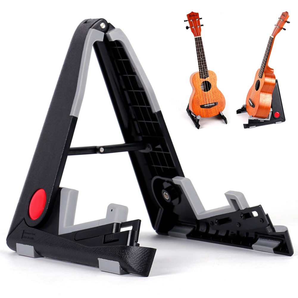 Us 8 47 37 Off Foldable Folding Lightweight Portable Guitar Bass Cello Stringed Instrument Stand Holder For Professional Guitarist On Aliexpress