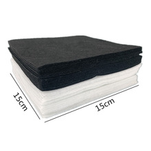zsbszc 40PCS black and white  1mm Hard Felt Sheets Felt Craft For Felt DIY Craft Arts,Crafts & Sewing Scrapbook Home textile BD3