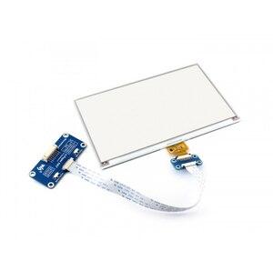 Image 5 - Waveshare 800*480, chapeau daffichage e ink 7.5 pouces pour Raspberry Pi 2B/3B/Zero WThree couleur: rouge, noir blanc, Interface SPI, pas de rétro éclairage
