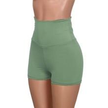Yoga Shorts Women 2019 Yoga Skinny Sport Gym Shorts Running Casual Elastic High Waist Shorts Seamless Leggings  I400813