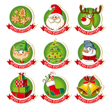 ZhuoAng Christmas badge Clear Stamps/Silicone Transparent Seals for DIY scrapbooking photo album Stamps