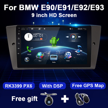Android System Car Radio For BMW E90/E91/E92/E93 3 Series Multimedia Video Player GPS Navigation 4G 64GB DSP 1Din DVD no image